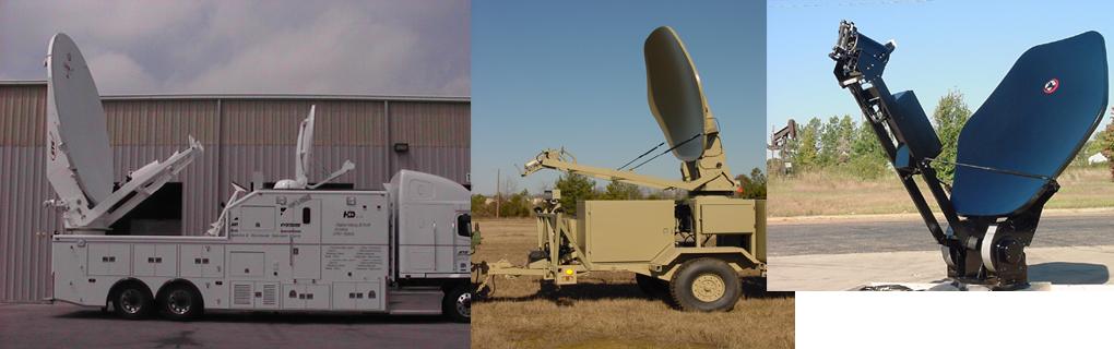 Antenas y Equipamiento para Unidades Móviles SNG/DSNG