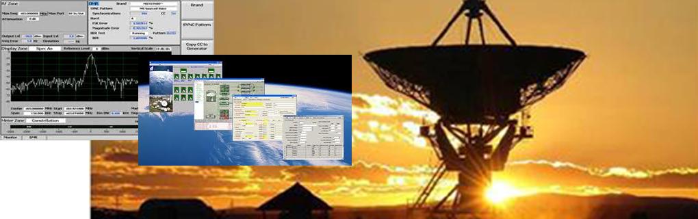 Sistemas MyC, Tracking, Control de Antenas