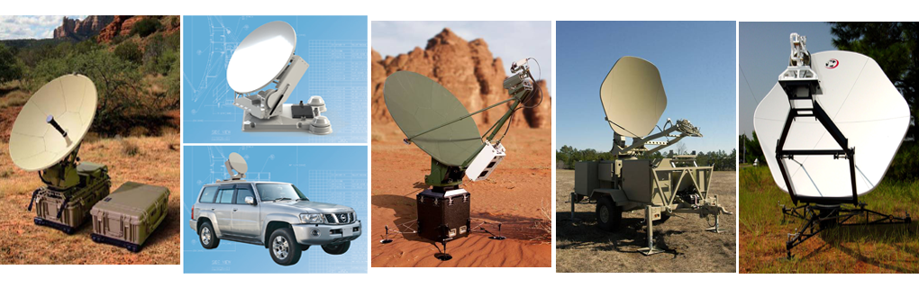 Antenas Fly-away, Satcom-on-the-Move / Satcom on-the-Pause