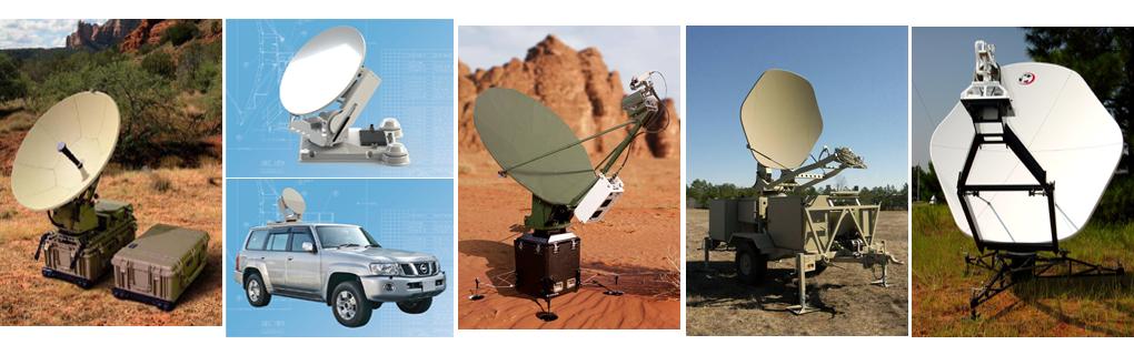 Antenas Fly-away, Satcom-on-the-Move / Satcom on-the-Pause